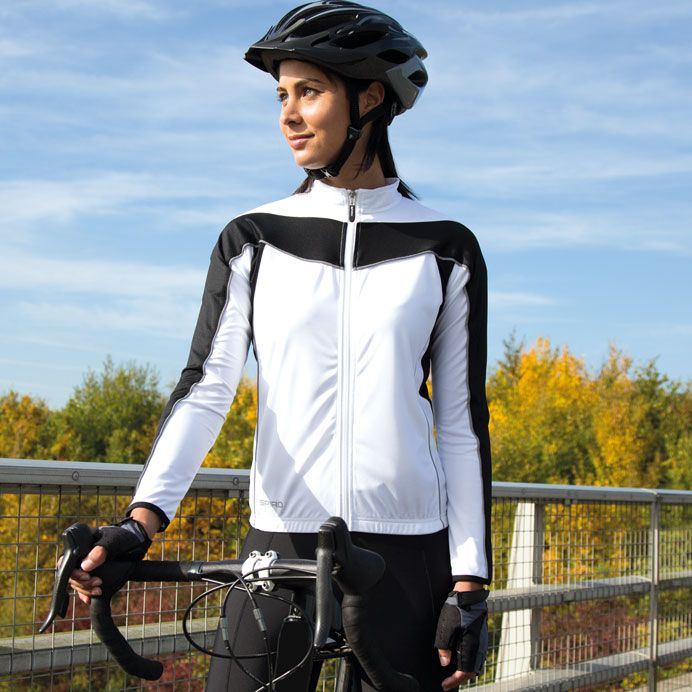 SPIRO WOMENS BIKEWEAR LONG SLEEVED PERFORMANCE TOP, ISE Online