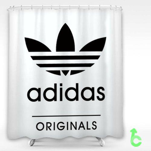 Sell Adidas Original Logo Shower Curtain Cheap