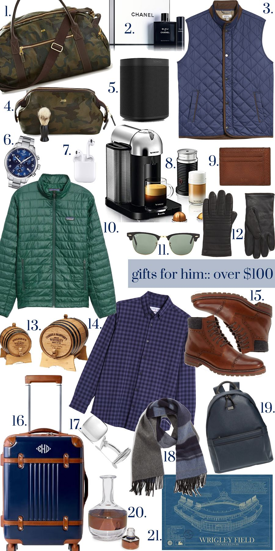 Gifts Over $100:: for Him & Her | Thoughtful gifts for him ...