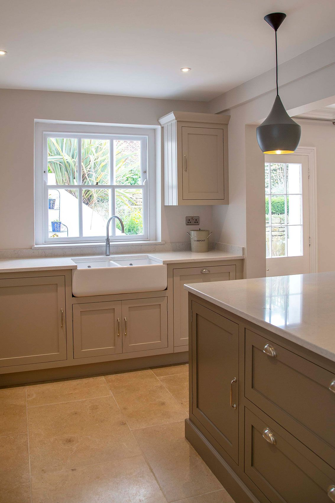 Shaker Kitchens - kitchens often have beautiful views over gardens ...