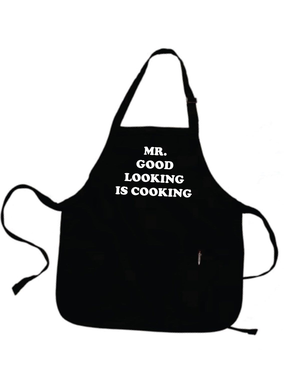 Father Gift Boyfriend Husband For Men Personalized Mens Mr Good Looking Is Cooking A