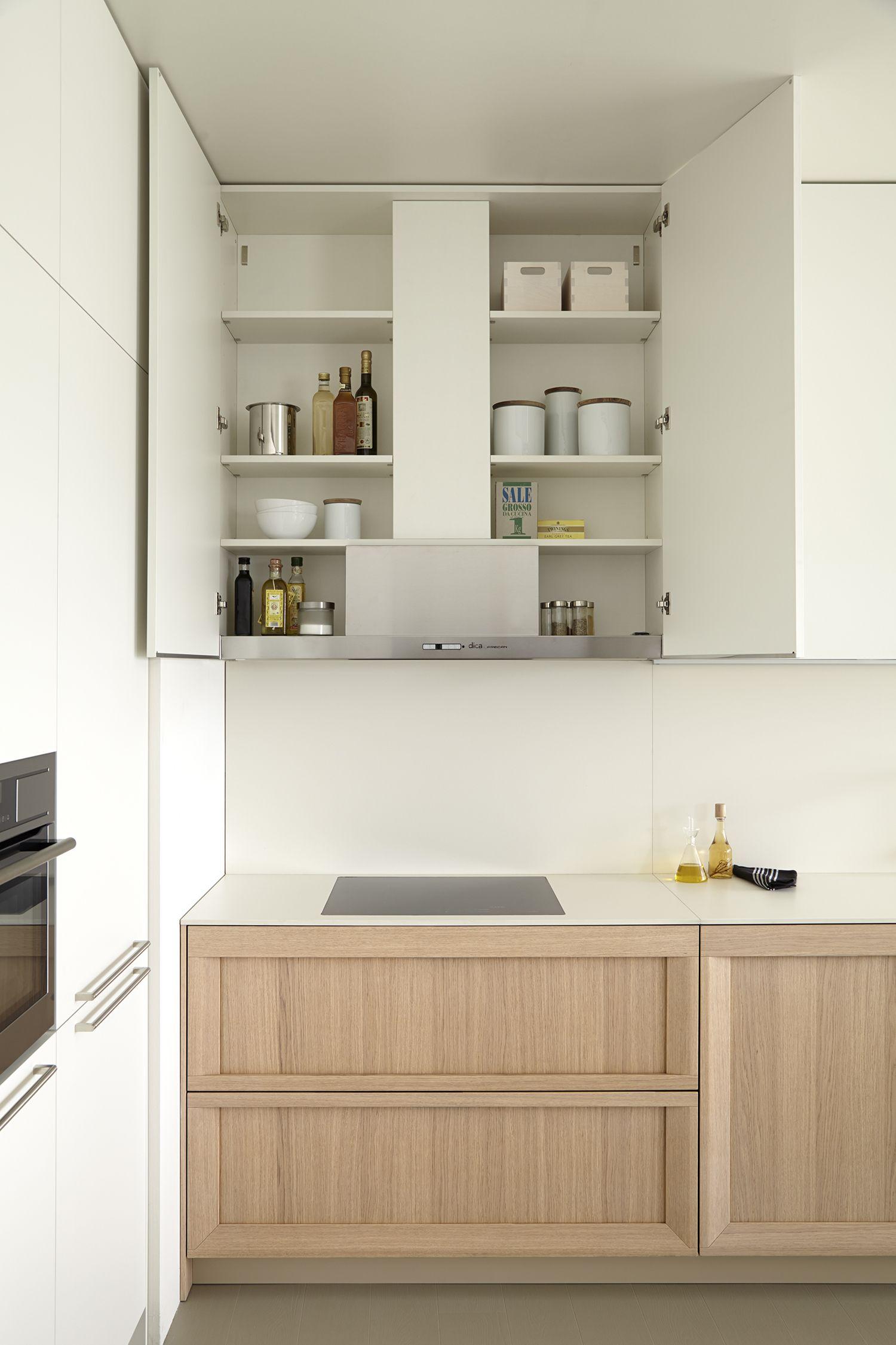 dica   SoHo   Una cocina contemporánea con interiores bien equipados ...