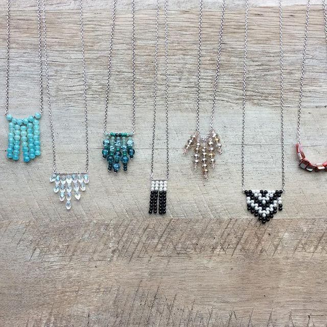 Beautiful handmade beaded jewelry with a rustic modern twist created by @mirrorhandmadegoods!  mirrorhandmadegoods.etsy.com  #craftcurate #etsy #handmade