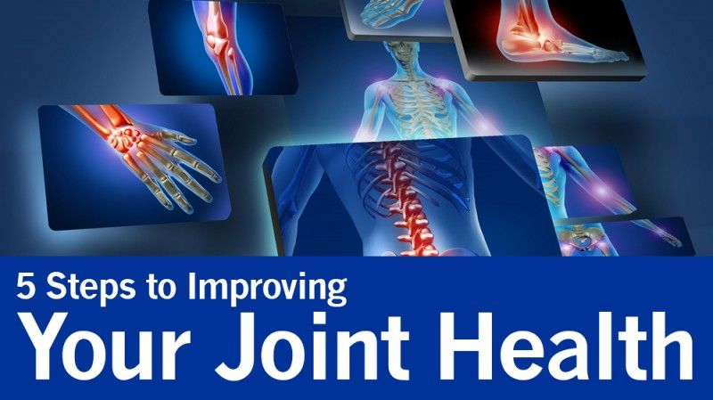 5 Steps to Improving Your Joint Health