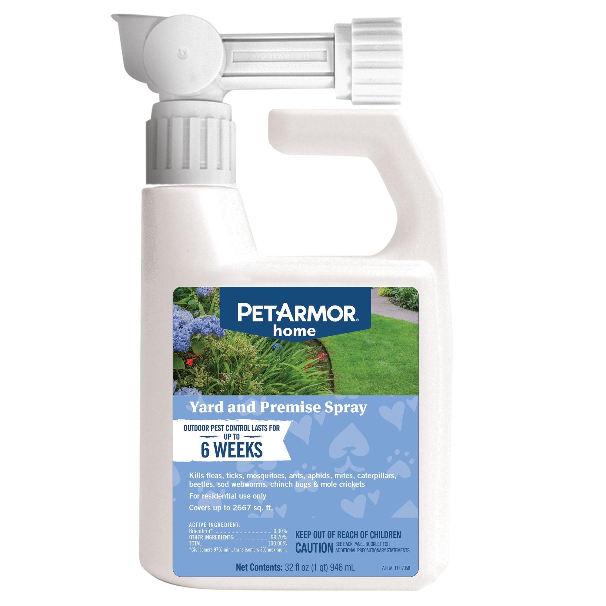 Petarmor home flea tick yard premise spray fleas