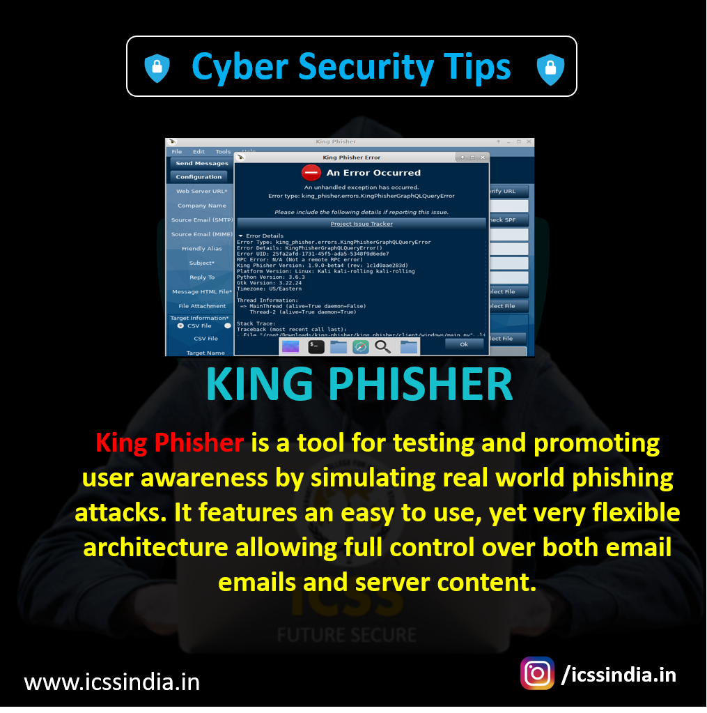King Phisher is a tool for testing and promoting user
