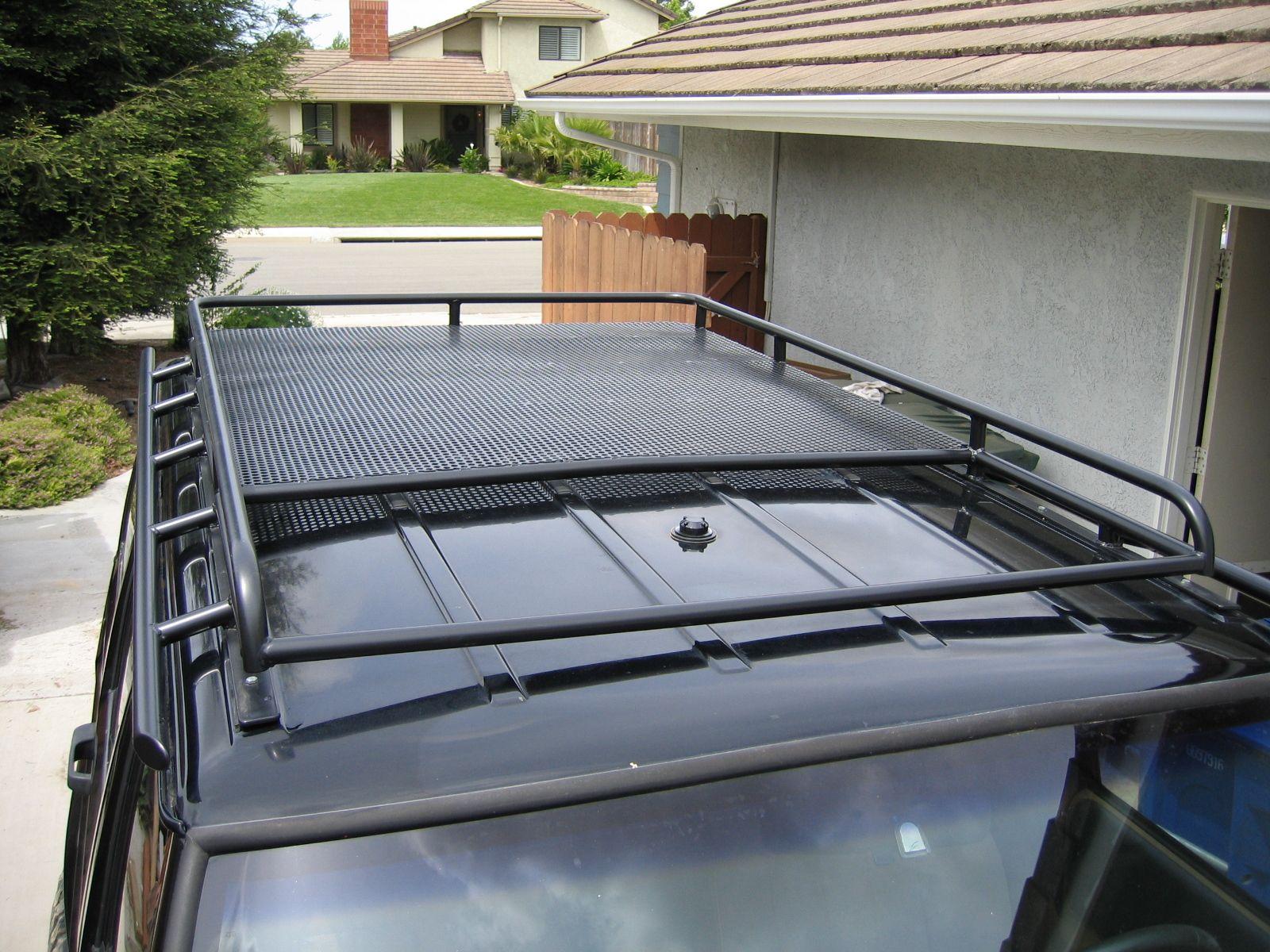 jeep xj roof rack diy