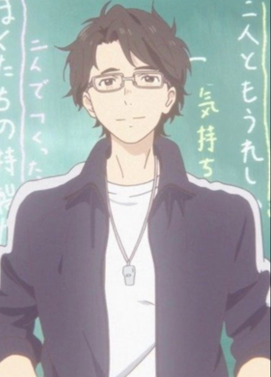 The Teacher From Silent Voice Makes Me Wanna Bark Anime Movies Cool Anime Pictures Anime Baby