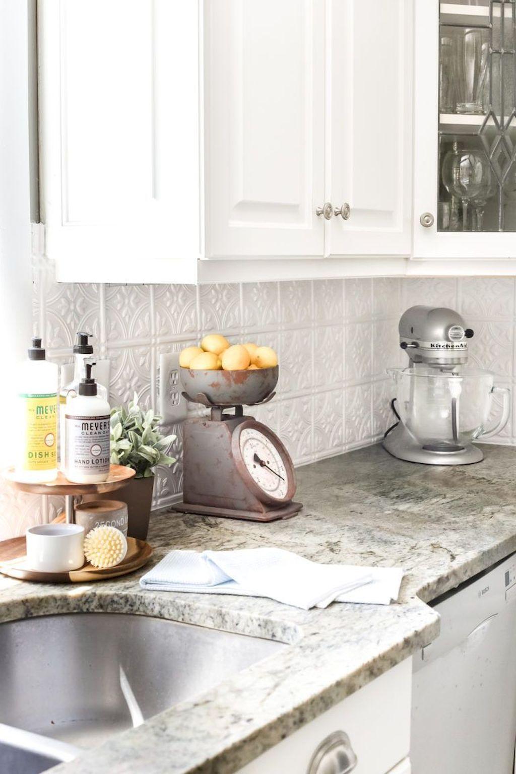 10 Simple And Impressive Ideas Colorful Backsplash Paint Kitchen