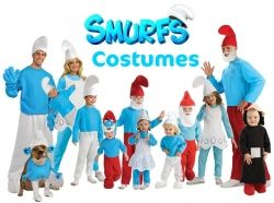 hmm maybe we can make a Smurf costume...
