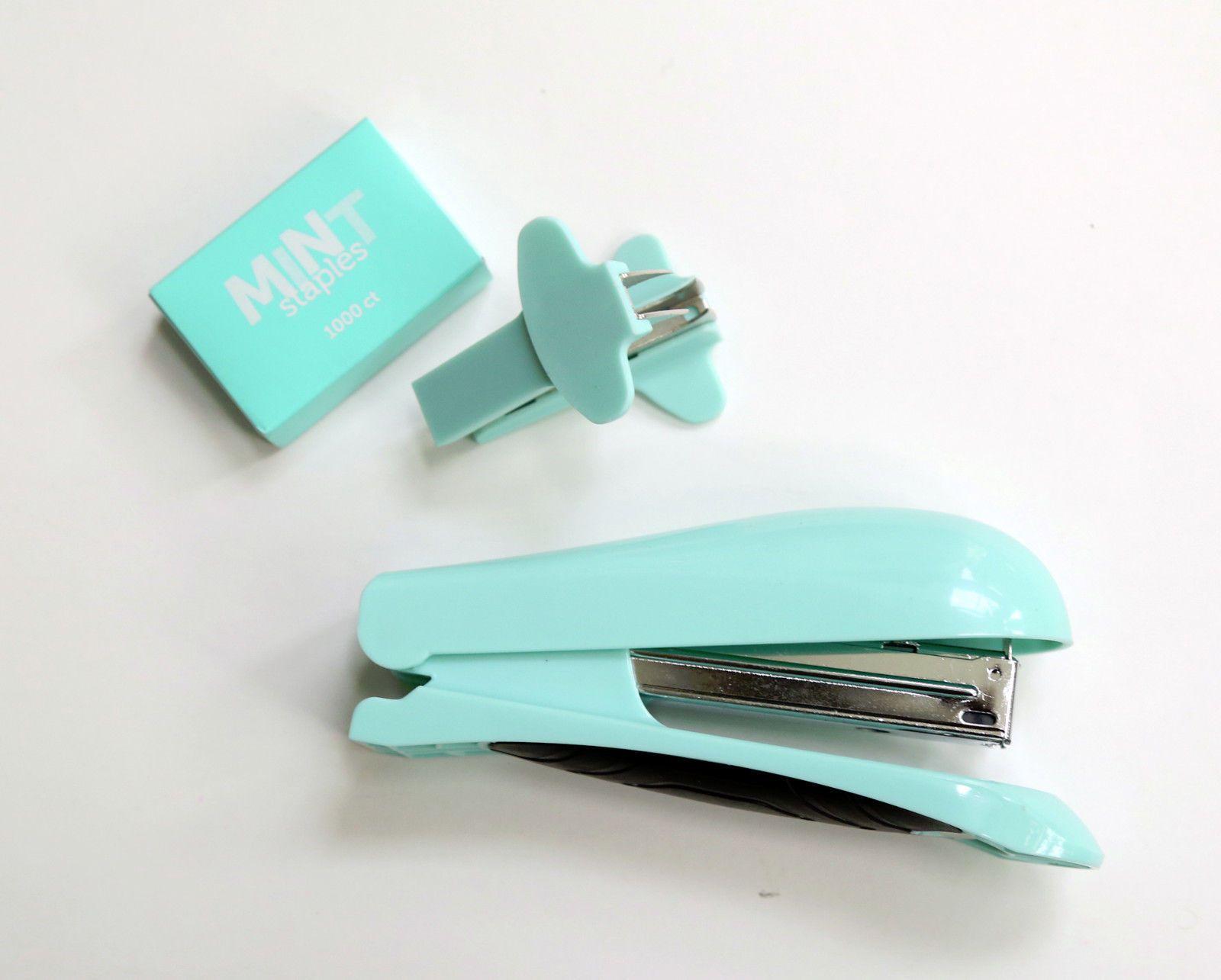 FOR SALE | MINT School Supplies, Desk Accessories Mint Blue Mint Green Mint  Color Seafoam