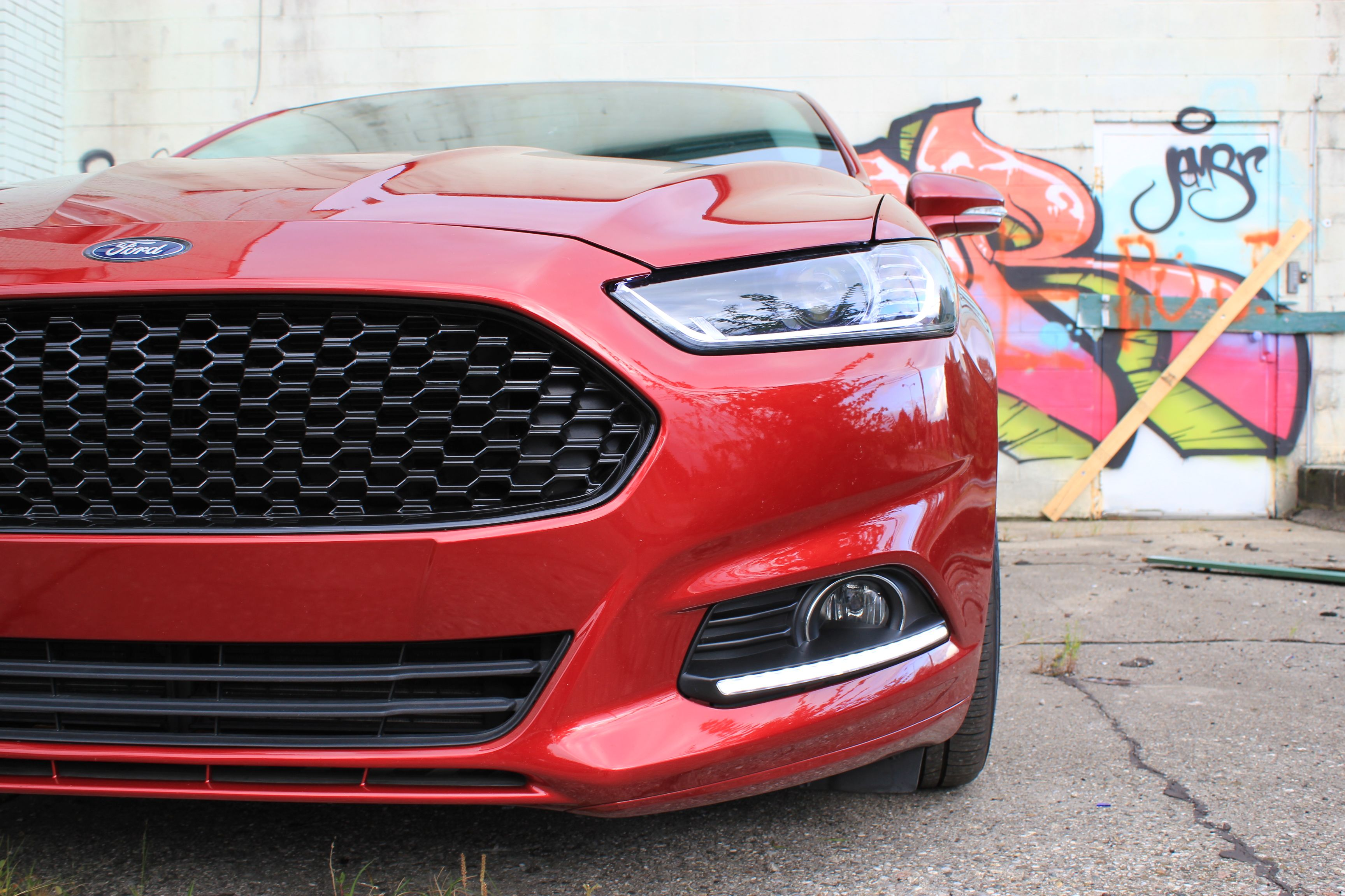 That Grill Though Ford Fusion Ford Fusion Custom Ford Fusion Accessories
