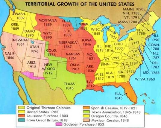 map of early colonies in US Yahoo Image Search Results Manitou