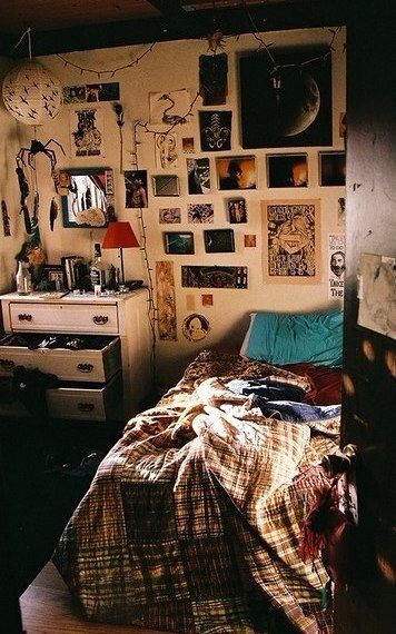Pictures And Posters Are Organised Well Placed Precisely But Still Has A Boho Hippie Feel