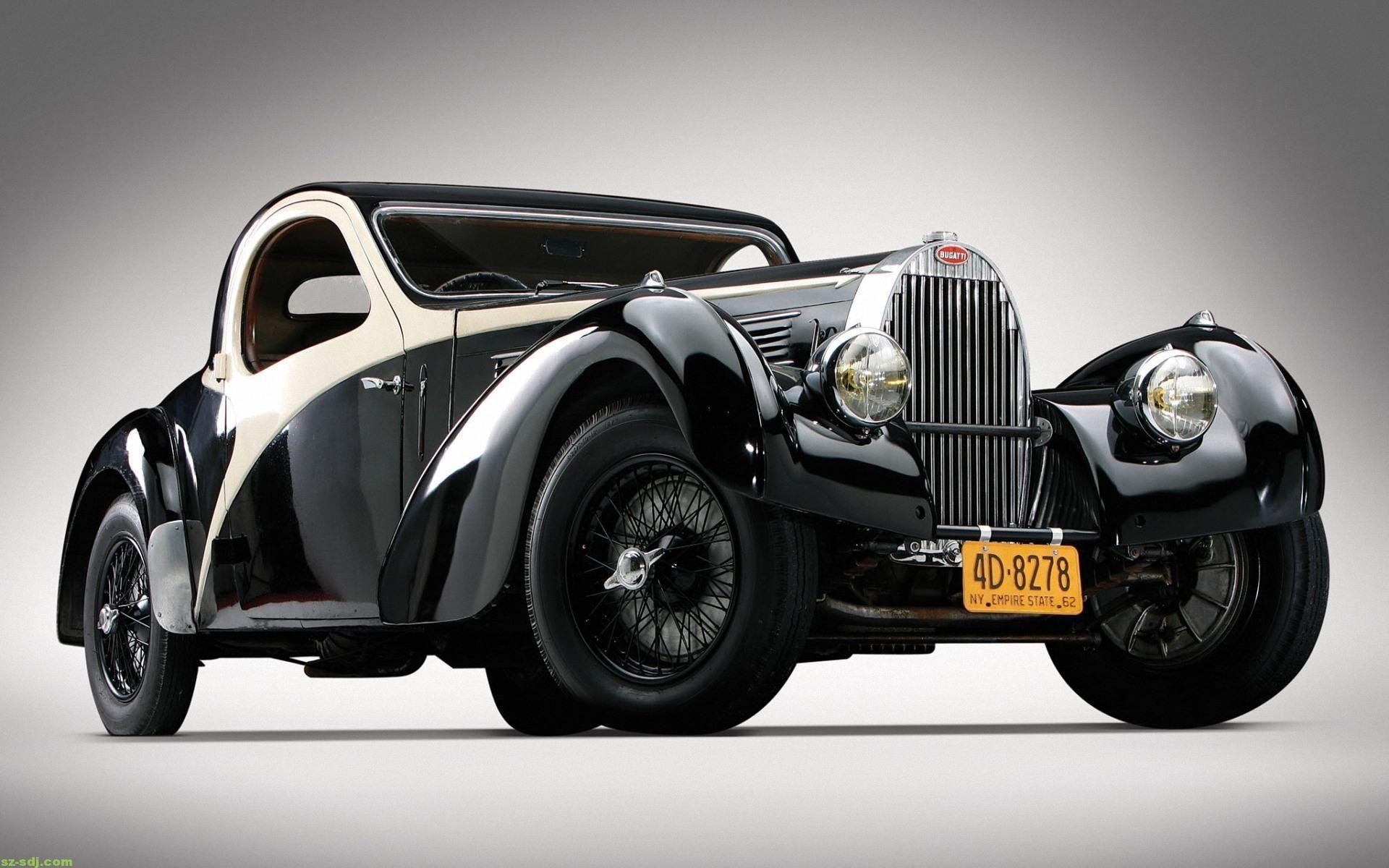 Black Bugatti Type 57 Car Wallpaper Http Car Logos Com Black Bugatti Type 57 Car Wallpaper Antique Cars Bugatti Type 57 Classic Cars
