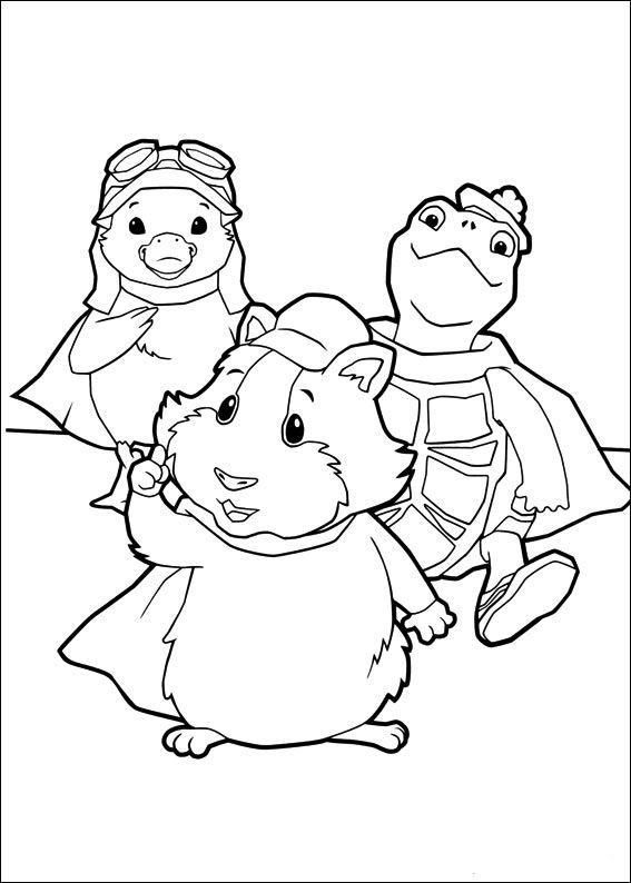 Wonder Pets Coloring Pages 27 Animal Coloring Pages Coloring Pages