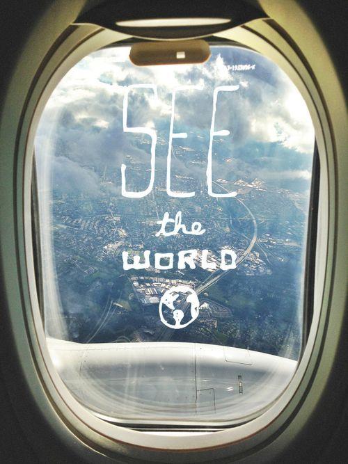 Plane Window Quotes Diy Craft