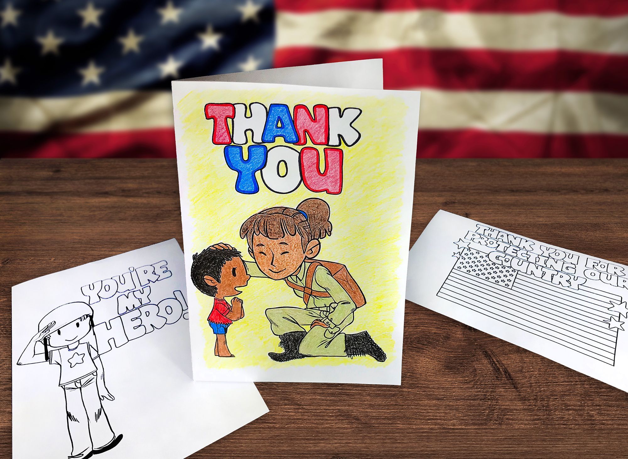 Superteacherworksheets Printable Veteransday Cards Are
