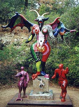 Tarot garden devil the devil symbolises enslavement and - Niki de saint phalle tarot garden ...