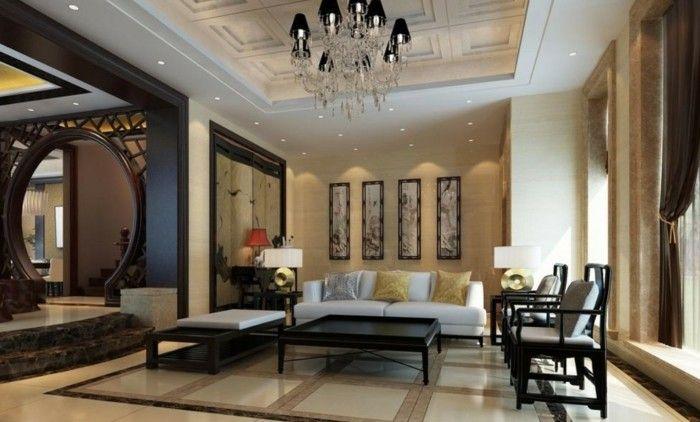 wohnideen wohnzimmer im klassischen stil in neutralen farben - wohnideen für wohnzimmer