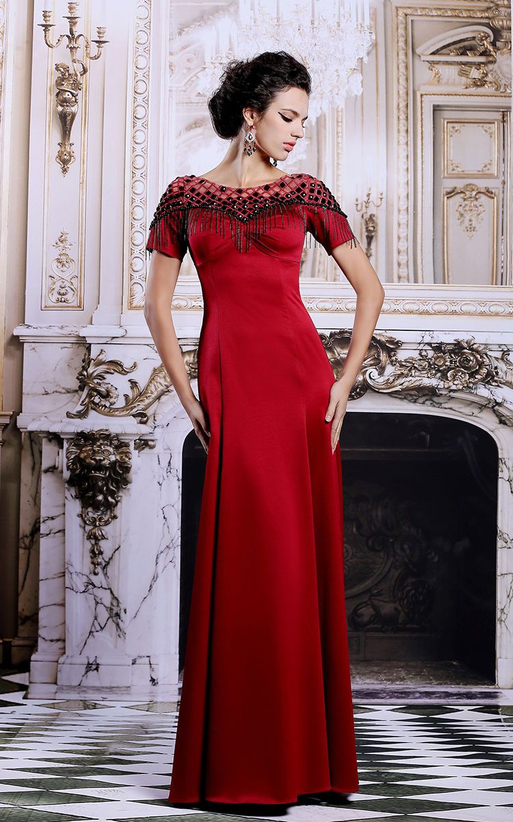 Red Military Ball Short Dresses for a Girl