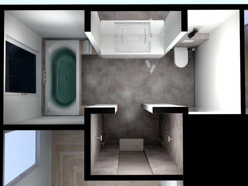 Badkamer Woerden ontwerpen - De | Thuis | Pinterest - Badkamer ...