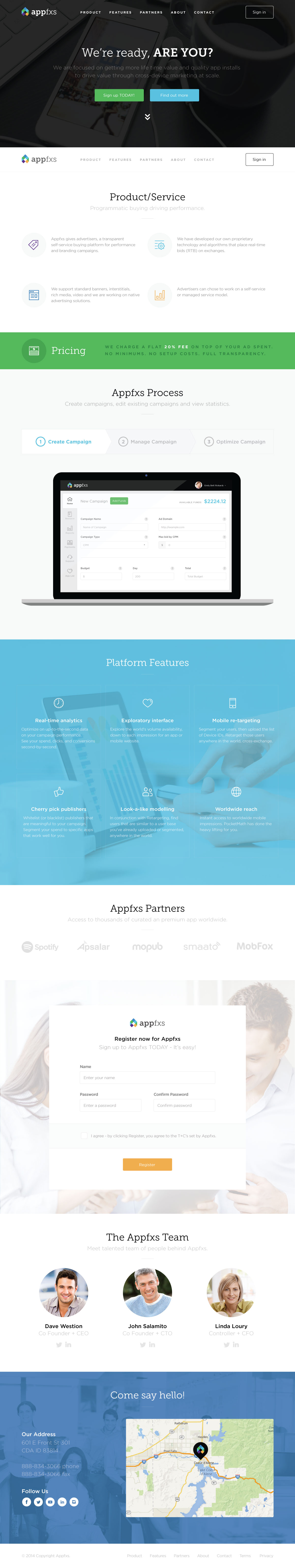 AppFXS site re-design