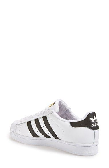 adidas superstar black and white nordstrom