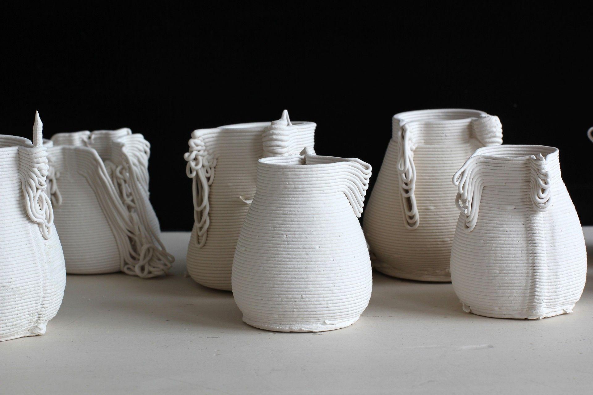 3D printed ceramics Alterfact #73 Lucile Sciallano • Victorian Craft Award