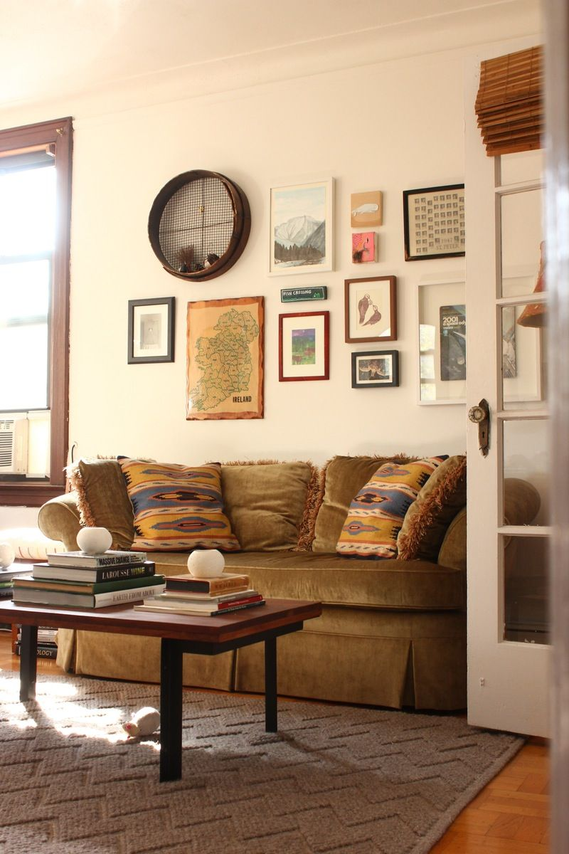 Small Living Room Apartment Therapy: Michael's Life Reflection — Small Cool