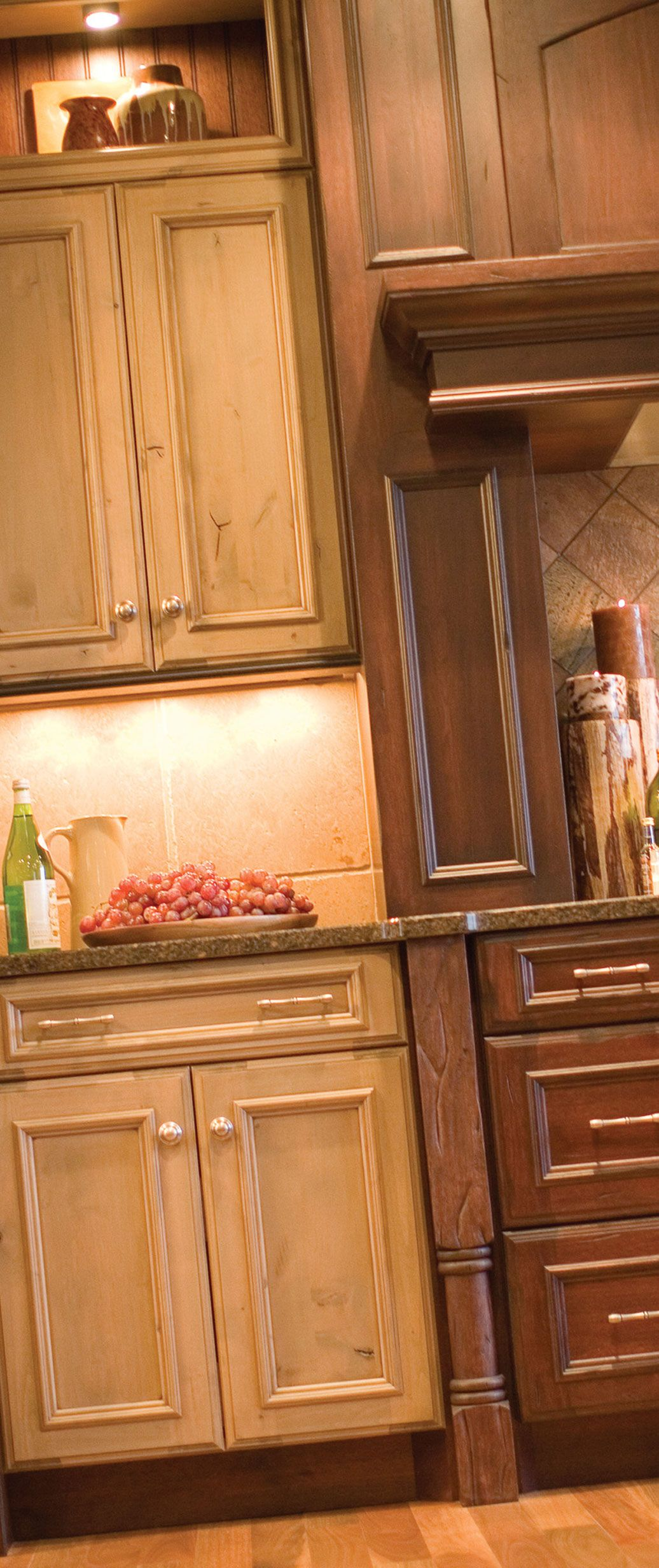 Dura Supreme Cabinetry Kitchen Bath Cabinetry Eclectic Kitchen Rustic Kitchen Island Kitchen Cabinets