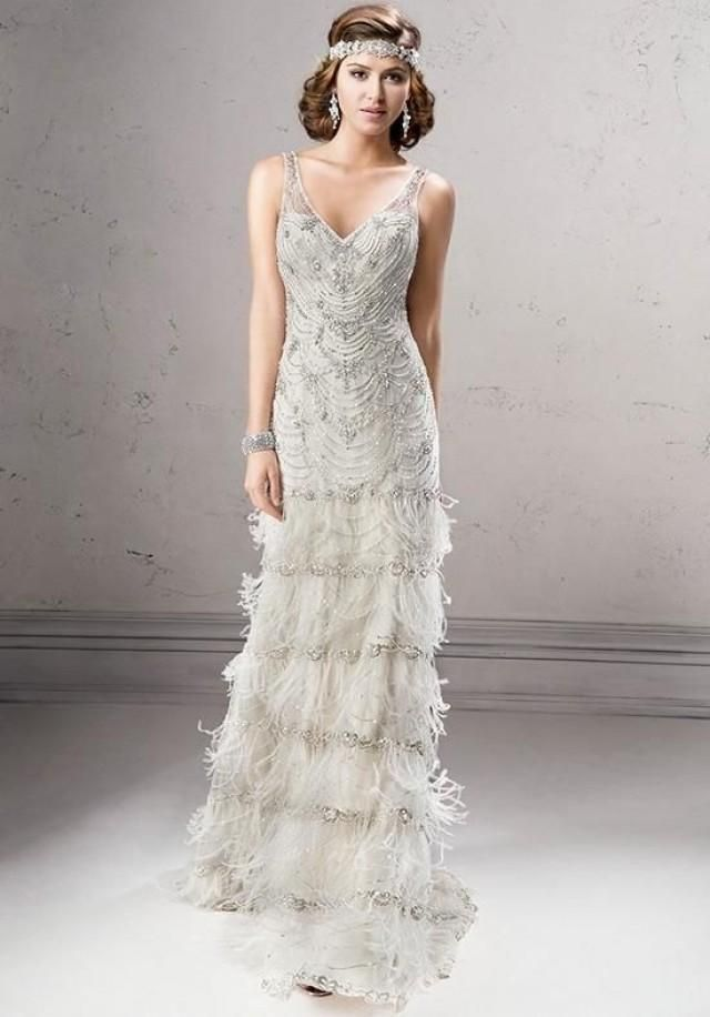 Great Gatsby Inspired Vintage Lace Veils And Headpieces