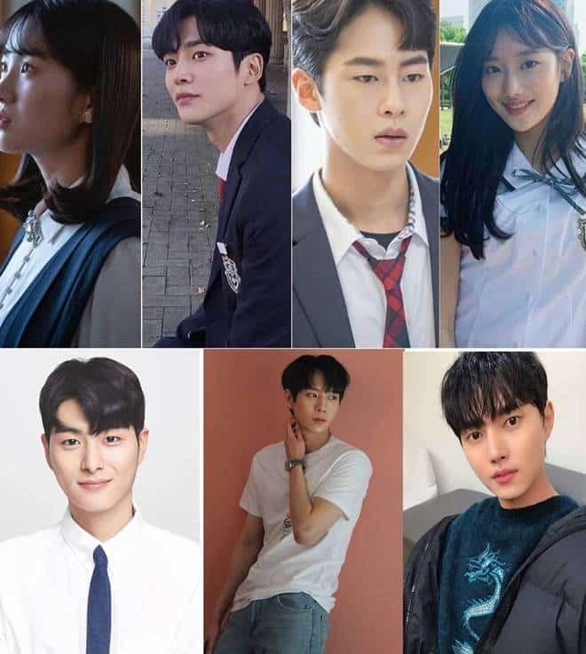 Daftar Nama Para Pemain Extraordinary You Merupakan Serial Drama Yang Menceritakan Tentang Seorang Siswa Sekolah Menengah Be Drama Buku Komik Sekolah Menengah