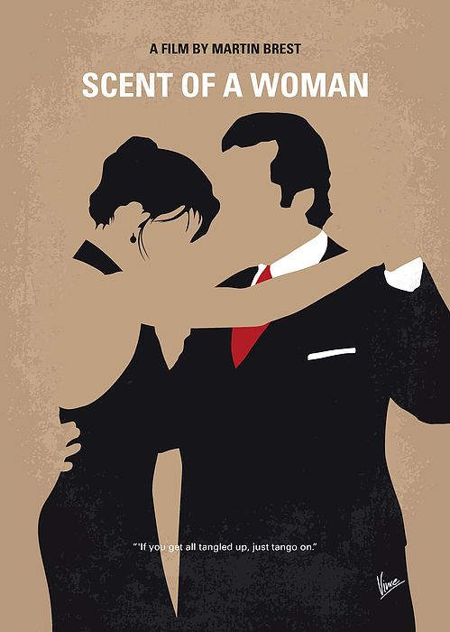 No888 My Scent Of A Woman Minimal Movie Poster #filmposters