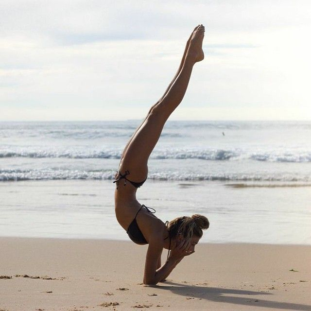 forearm to elbow stand #yoga