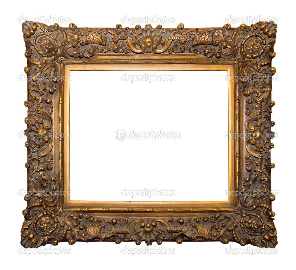 antique wood picture frames. Antique Wooden Picture Frames   Ornamental Frame Stock Photo © Ciprian Dumitrescu #2332375 Wood