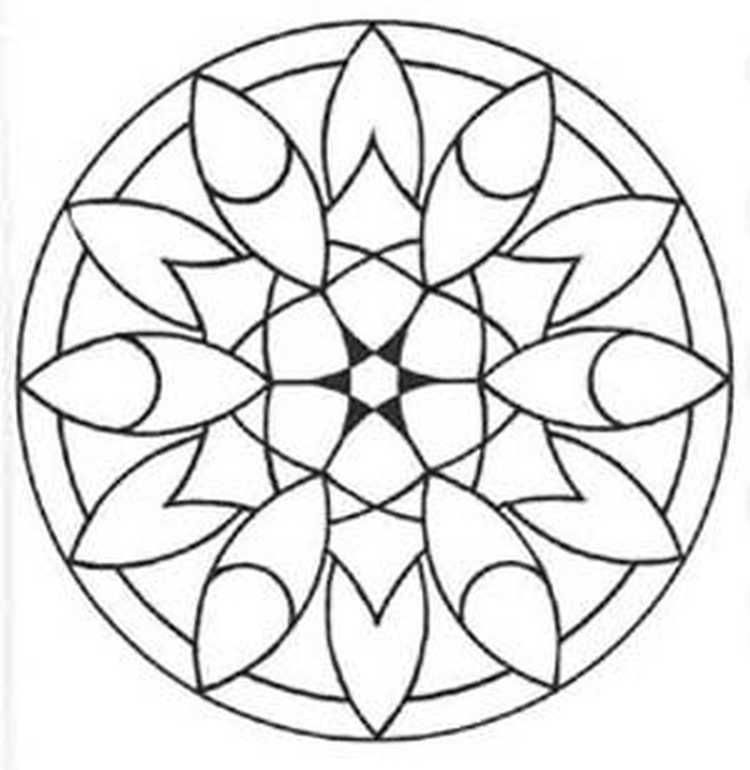 Mandalas To Paint Bordados Mandalas Para Colorear Mandalas Y