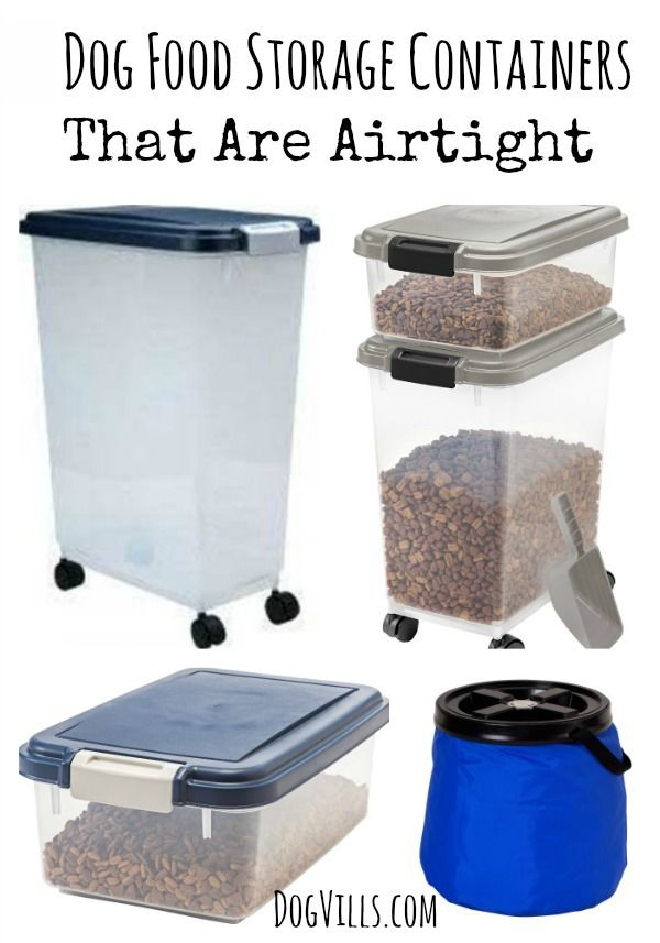 6 Dog Food Storage Containers That Are Airtight Dog Food Recipes