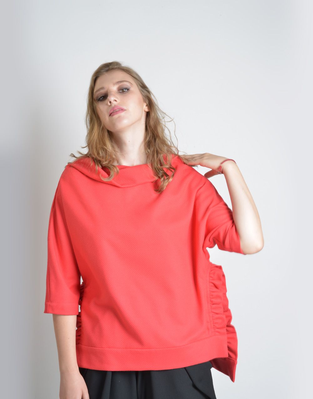 2f62586179a99 Red Blouse