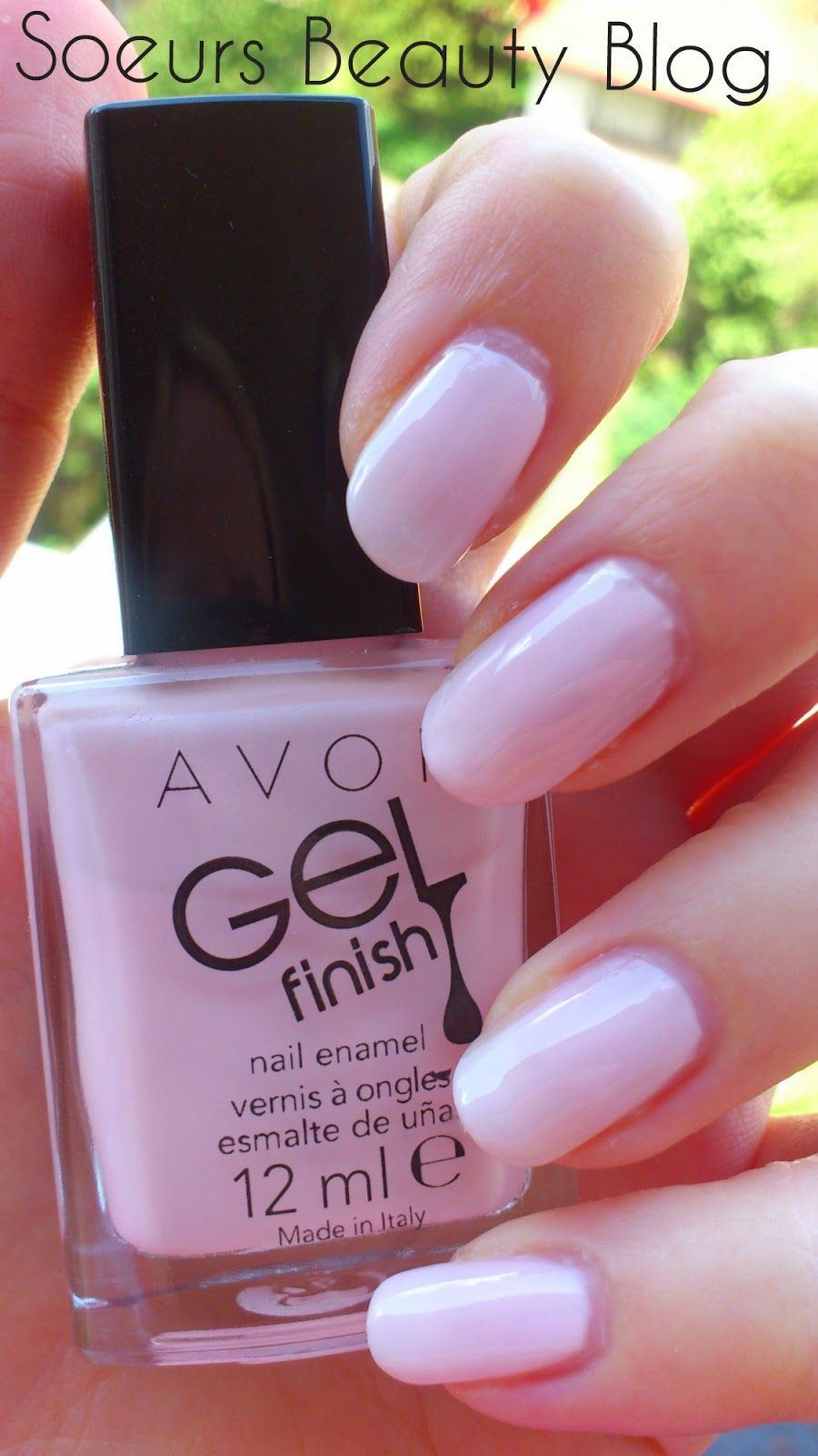 NOTD : Avon Gel Finish Sheer Love   Inspiração unhas   Pinterest ...