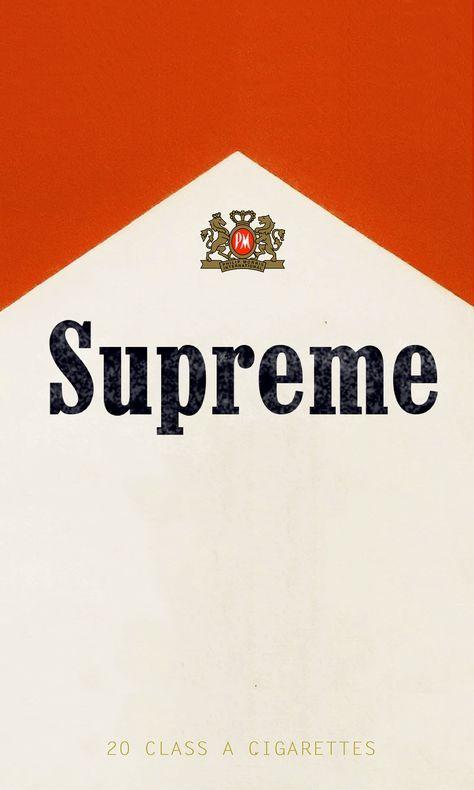 Marlboro X Supreme 2016