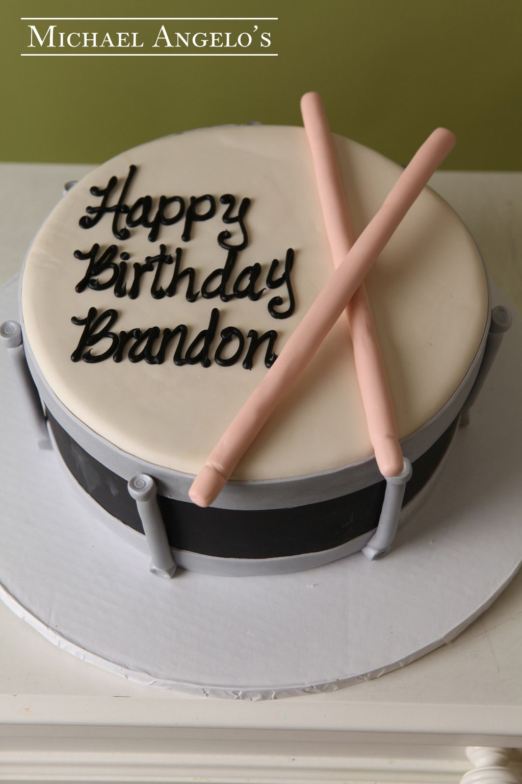 Surprising Band Drum 54Hobbies With Images Drum Birthday Cakes Personalised Birthday Cards Veneteletsinfo