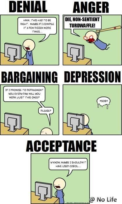 Stages Of Programming Programing Jokes Programmer Jokes