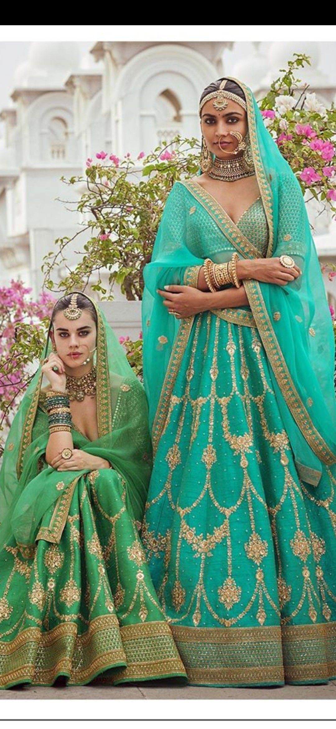 Pin by Divya Saini on Indian Attire... | Bridal outfits ...