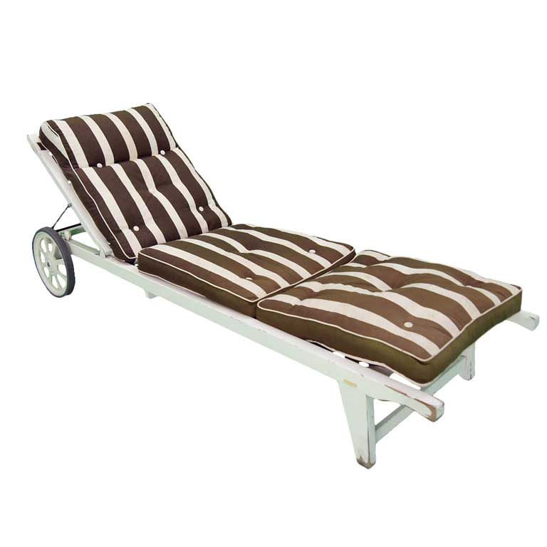Triconfort French C.1960u0027s Outdoor Chaise Lounge | From A Unique Collection  Of Antique And