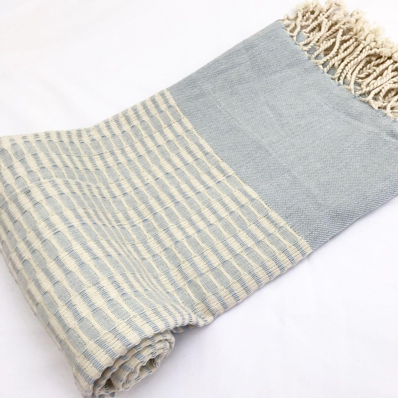 Turkish Towel Premium Handmade Pestemal 100 Cotton Bath Beach