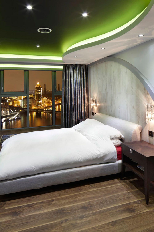 Schlafzimmer Beleuchtung Tipps Und Bilder Deckengestaltung