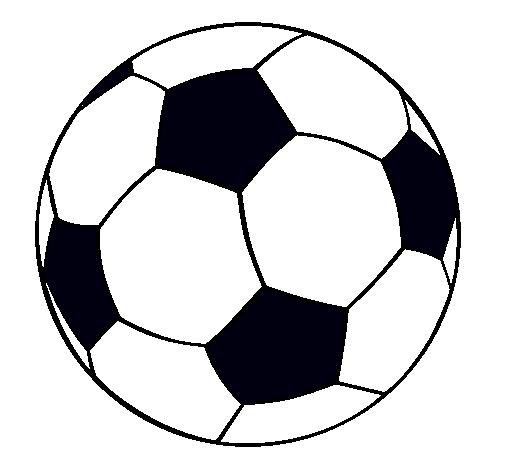 69bda6a73b2a7 Dibujo de Pelota de fútbol II pintado por Balon en Dibujos.net el ...