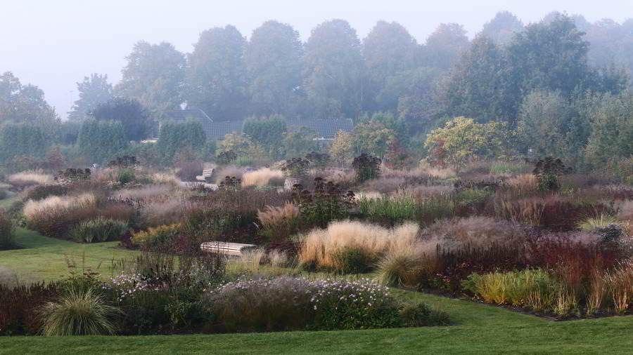 Five Seasons Film A Documentary About The Gardens Of Dutch Designer Piet Oudolf Meadow Garden Landscape Design Beautiful Gardens