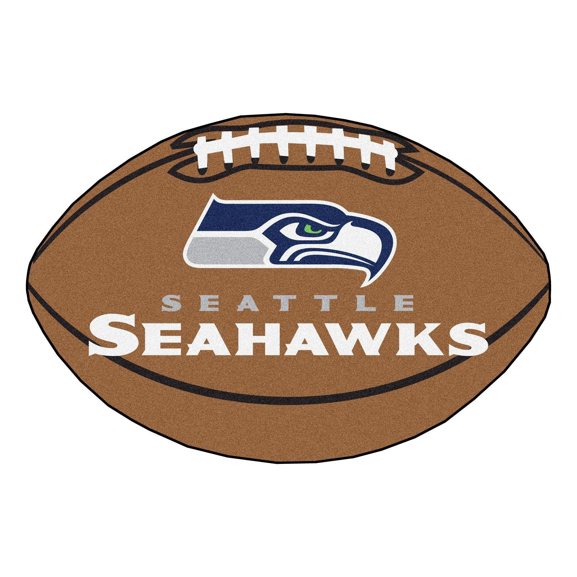 Seattle Seahawks Football Rug 20.5x32.5 Seahawks